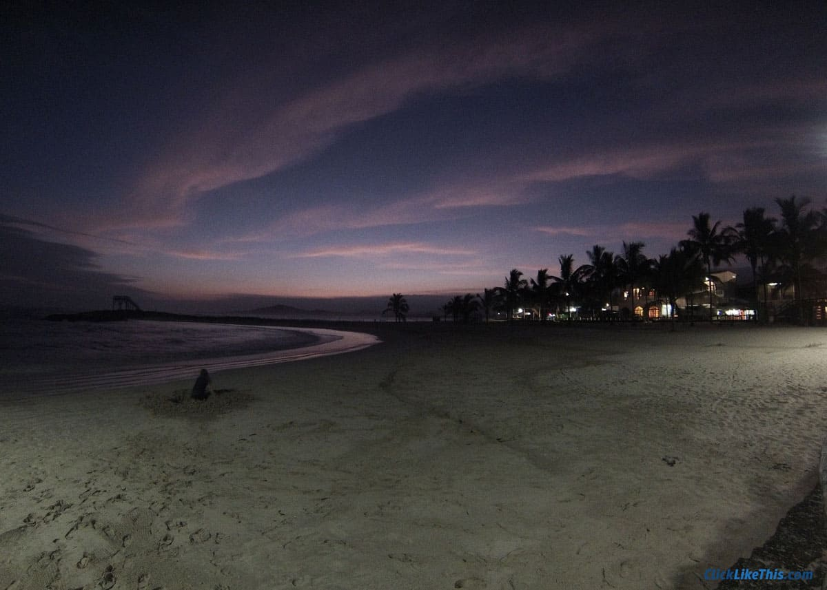 beach sunset gopro timelapse settings