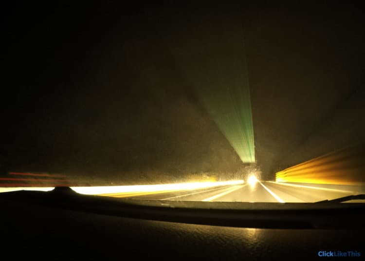 GoPro tips: change shutter speed to get light trails