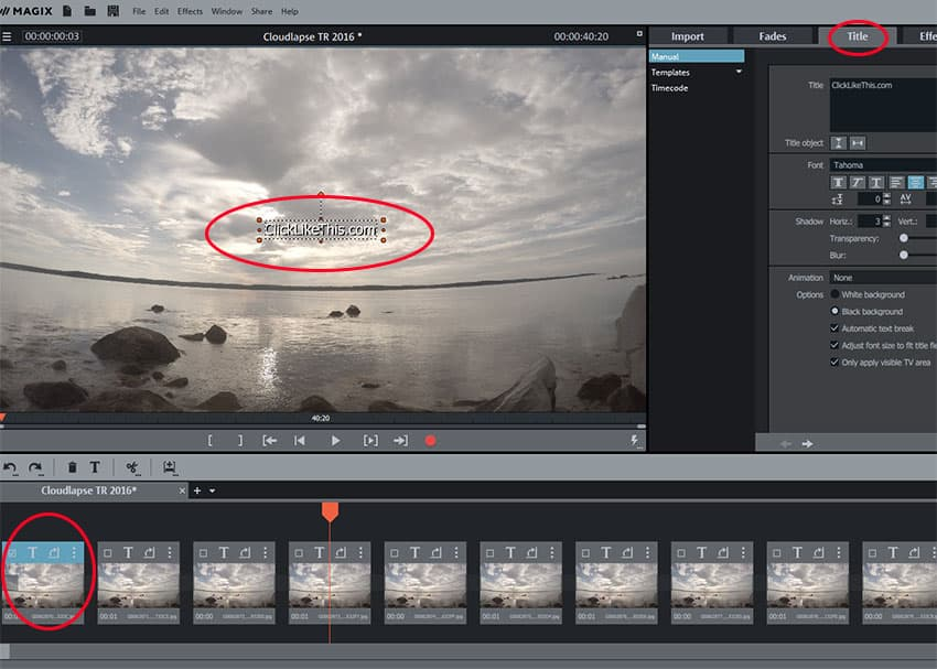 8 Easy Steps to Create a Timelapse in Magix Movie Edit Pro