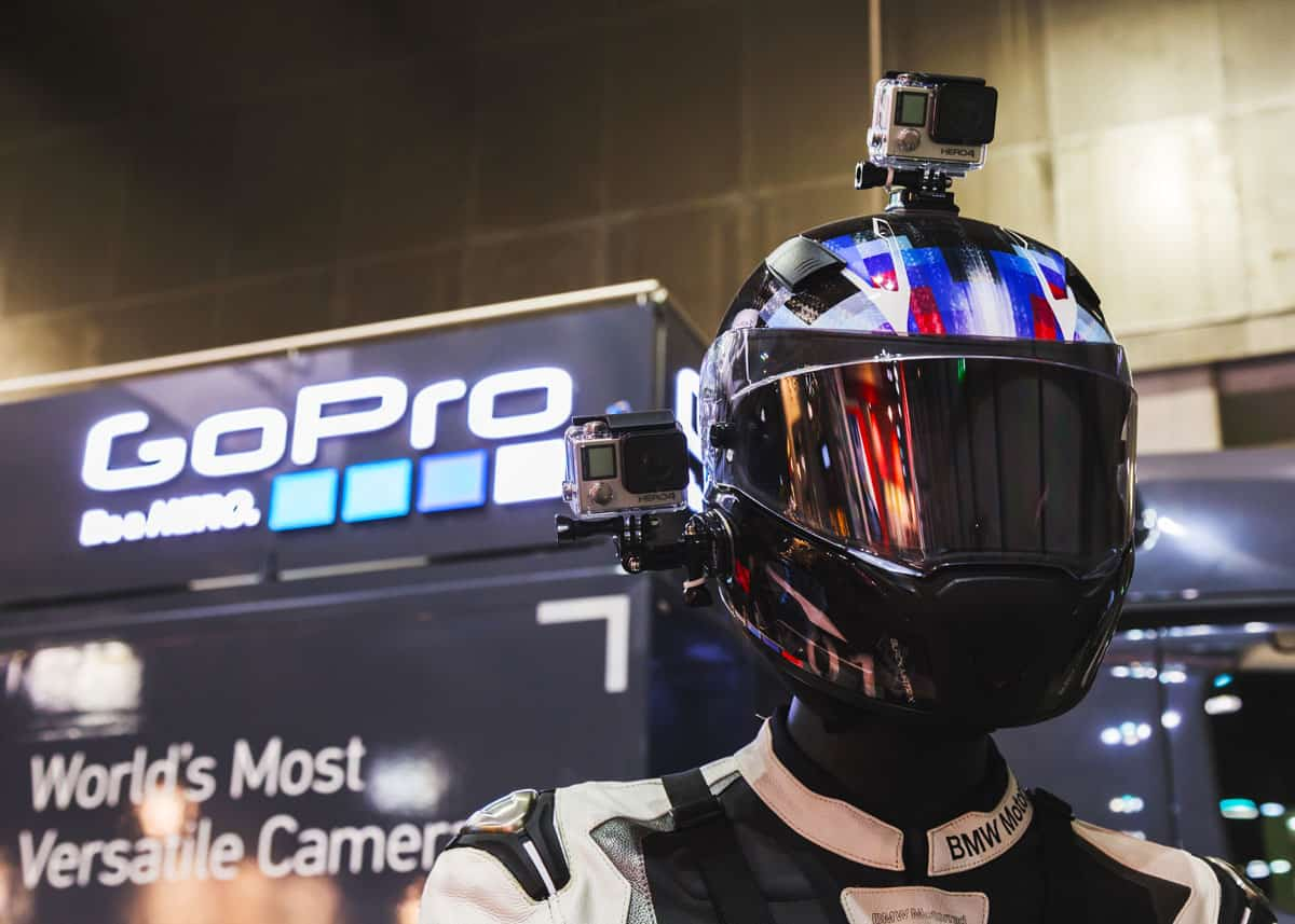 Best GoPro mount for motorcycle helmet